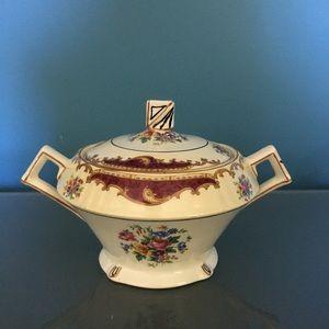 ☘️VTG Myott Staffordshire Dorothy Sugar Bowl ☘️
